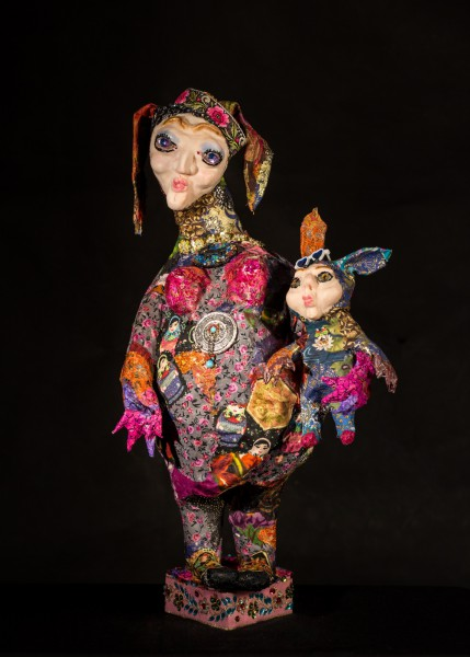 La maternité, sculpture, Svetlana Rasto, Outsider Art, Artcompulsion