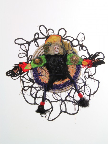 Valse hésitation, Ceramic and textile, Odile Mandrette, Outsider Art, Artcompulsion