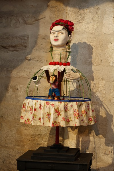 Florès, ceramic and assembly, Véronique Dominici, Outsider Art