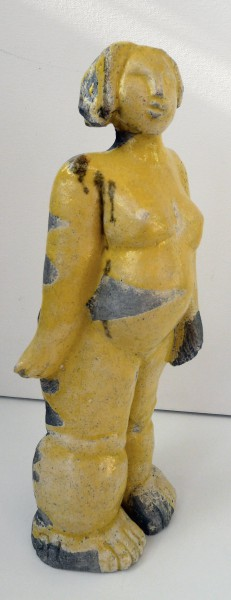 Surprise, sculpture, ceramic, Raku, Sylvie Hébrard, Artcompulsion