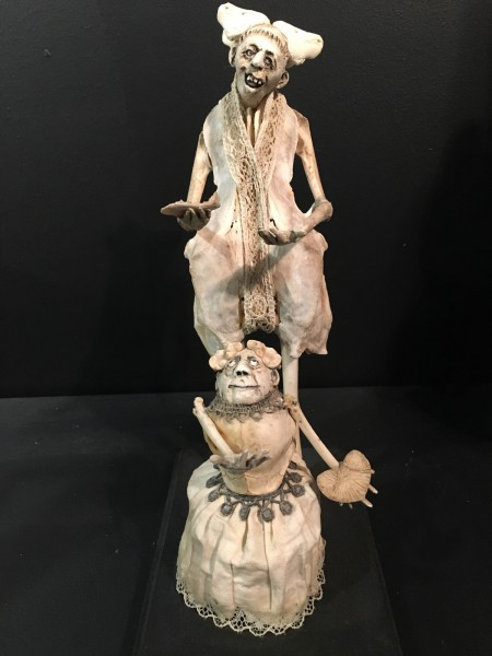 Mon coeur mon amour, Sculpture, mixed media, Sabrina Gruss, Outsider Art, Contemporary Art, Artcompulsion