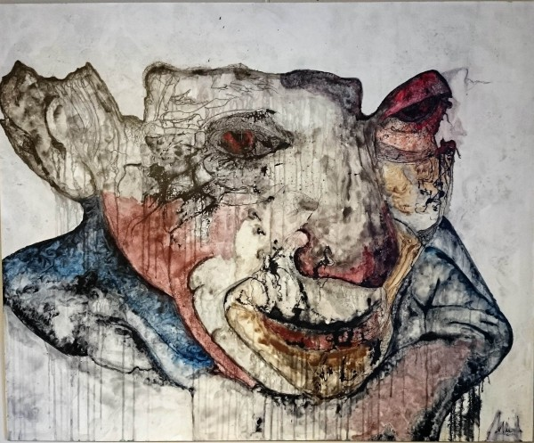 Compassion, David Deweerdt, expressionnisme, outsiderart