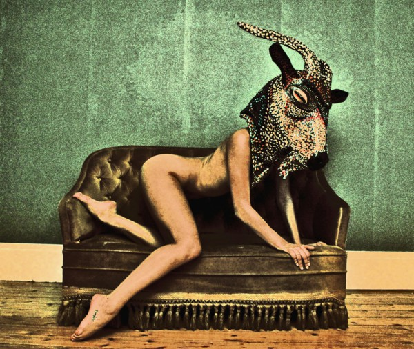 In Goat We Trust, Patrick Jannin, photography, nude