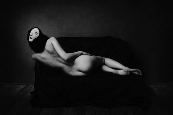 L'odalisque, Féebrile, photography, surrealism, nude