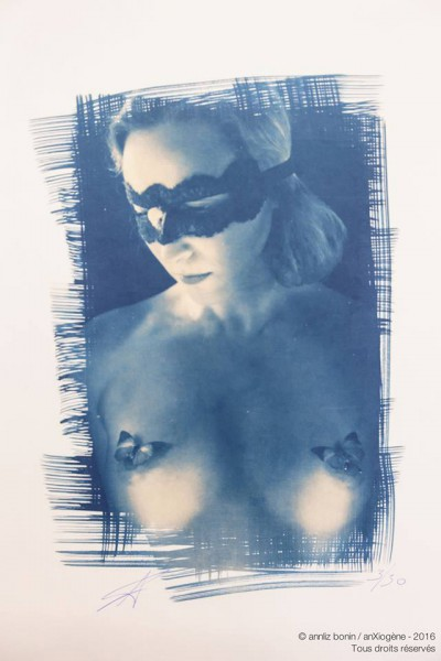 Sarura, photography, cyanotype, anXiogène