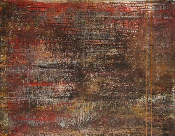 316B, mixed media and arylic on canvas, Jean Frontera