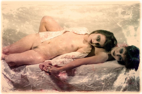 Death and the maidens, photography, digigraphie, Olivier Lelong