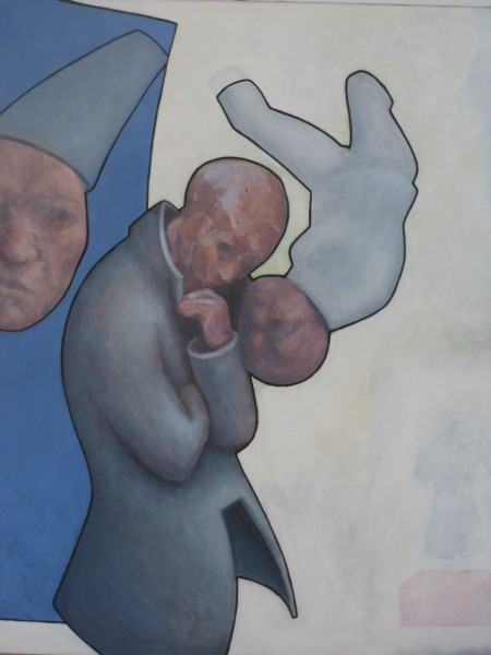 Sans titre 4, acrylic on canvas, Frédéric Galland