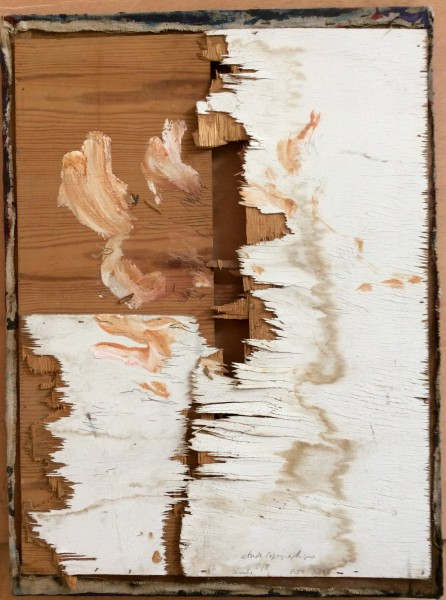 Hommage à Léonardo, mixed media on wood, Emmanuel Flipo, Artcompulsion, contemporary art