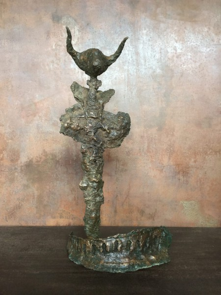 Minotaure, sculpture, bronze, Michel Jacucha, Artcompulsion, Art singulier, Outsider art