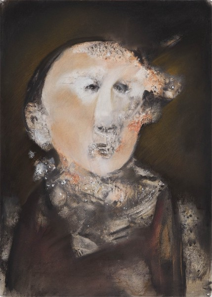 Sans titre 5, mixed media on paper, Gérard Jaulin, Artcompulsion, expressionism, contemporary art