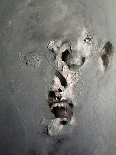 Série Face 2, acrylique sur toile, Guy, Artcompulsion, art contemporain