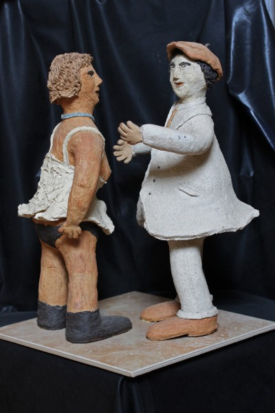 Promesses du petit matin, sculpture, Michel Smolec, Artcompulsion, outsiderart, folk art