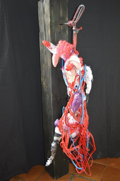 La Tripoteuse, sculpture, Muslin Jean-Paul, Artcompulsion, artworks for sale, expressionism