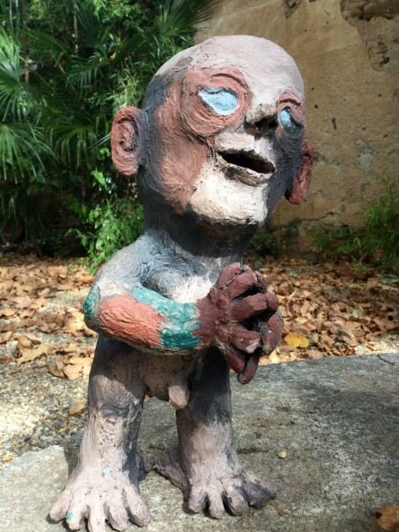 Marc, sculpture, ceramic, Jean Nicolas Reinert, Outsider Art, Artcompulsion